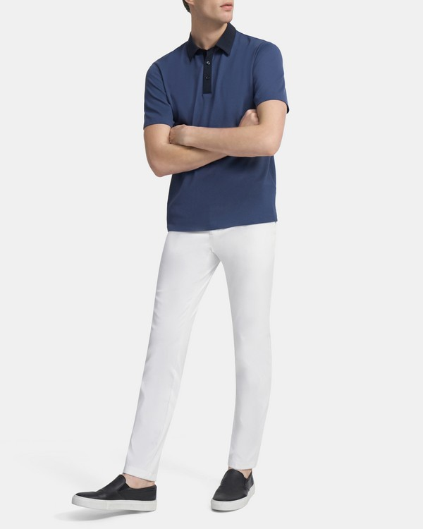 Tech Polo Shirt in Function Piqué