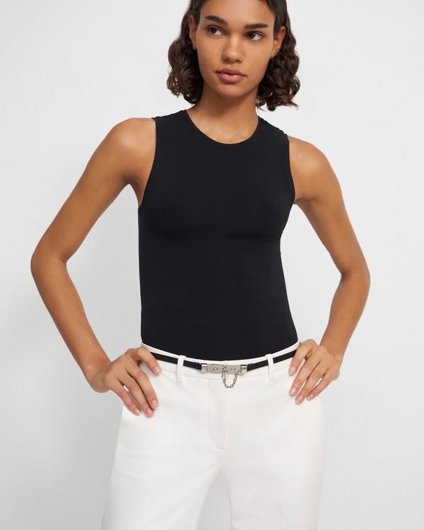 20FW 띠어리 플라크 가죽 벨트 - 2 컬러 Theory Plaque Belt in Leather