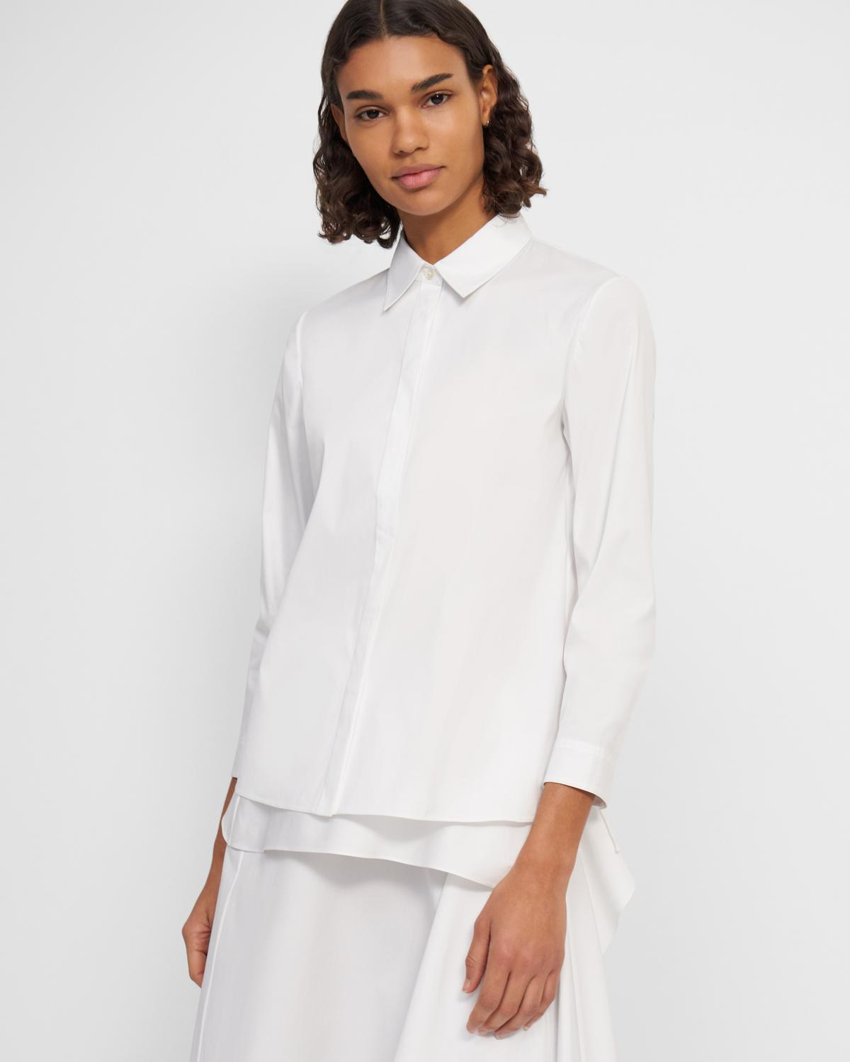 Trapeze Shirt in Good Cotton
