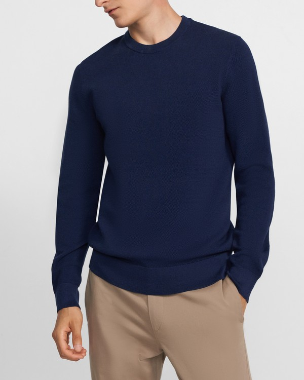 Crewneck Sweater in Tech Knit