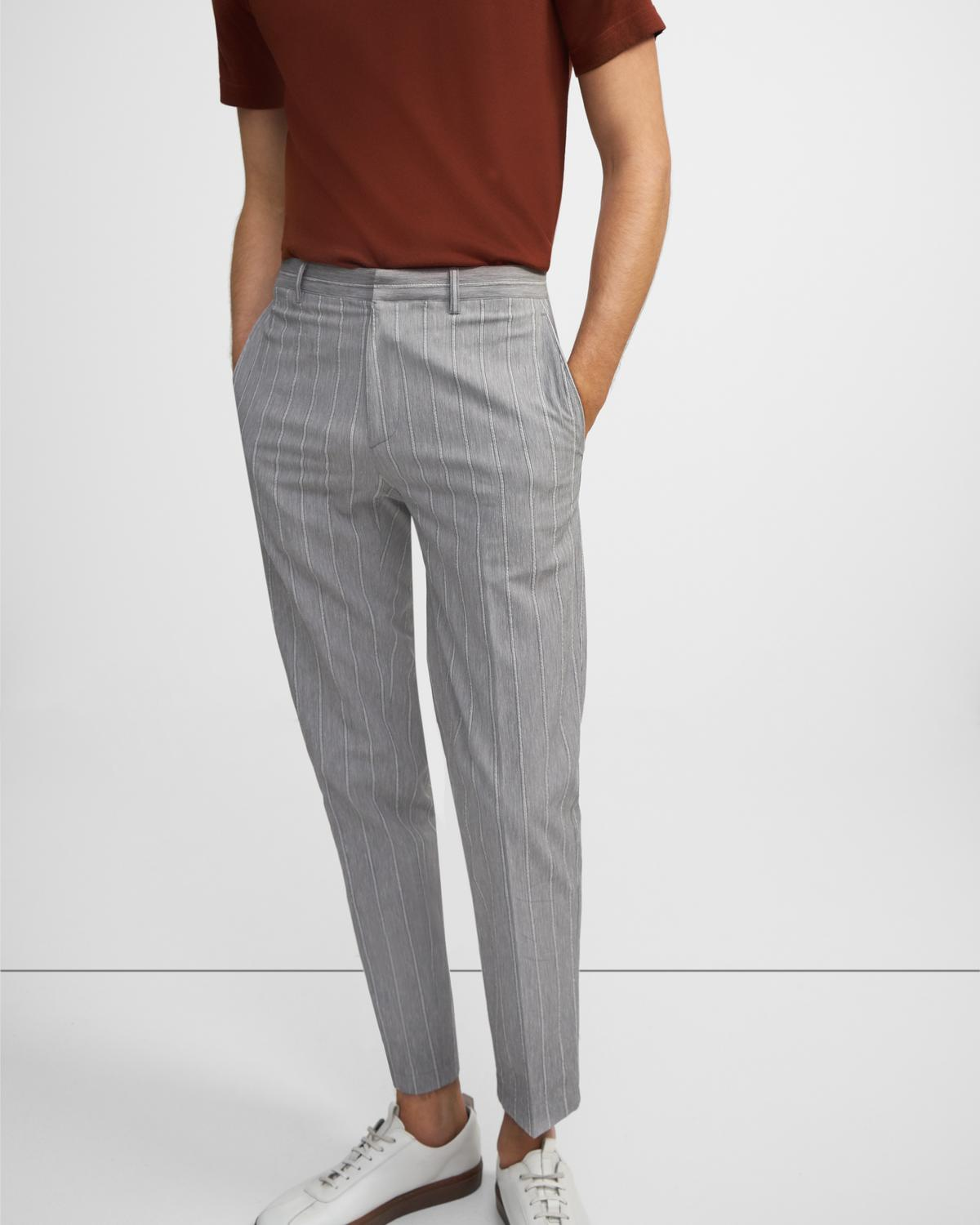 Curtis Pant in Seersucker Stretch Cotton