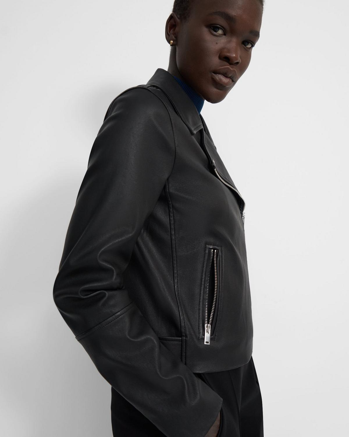 Moto Jacket in Leather