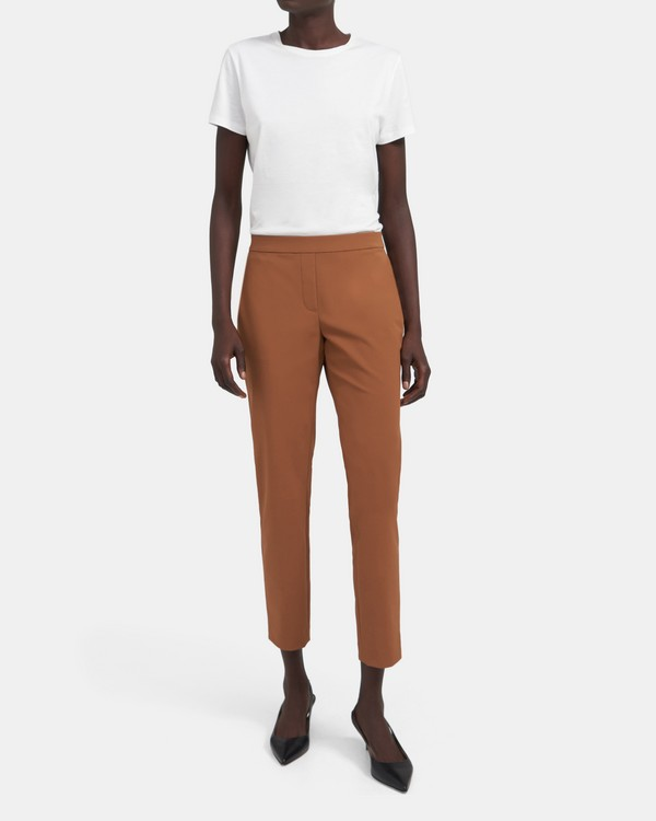 Slim Pant In Stretch Nylon