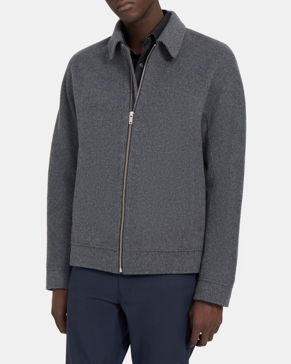 Elijah Jacket in Double-Face Wool-Cashmere