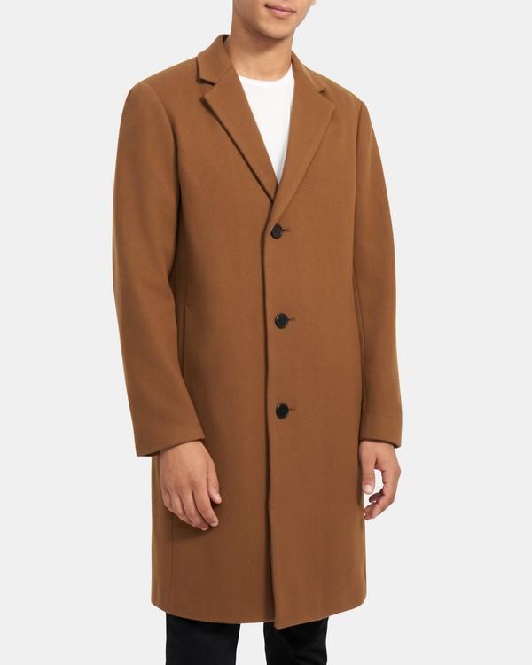 띠어리 맨 먼로 코트, 울 캐시미어 - 헤이즐 Theory Monroe Coat in Wool Twill