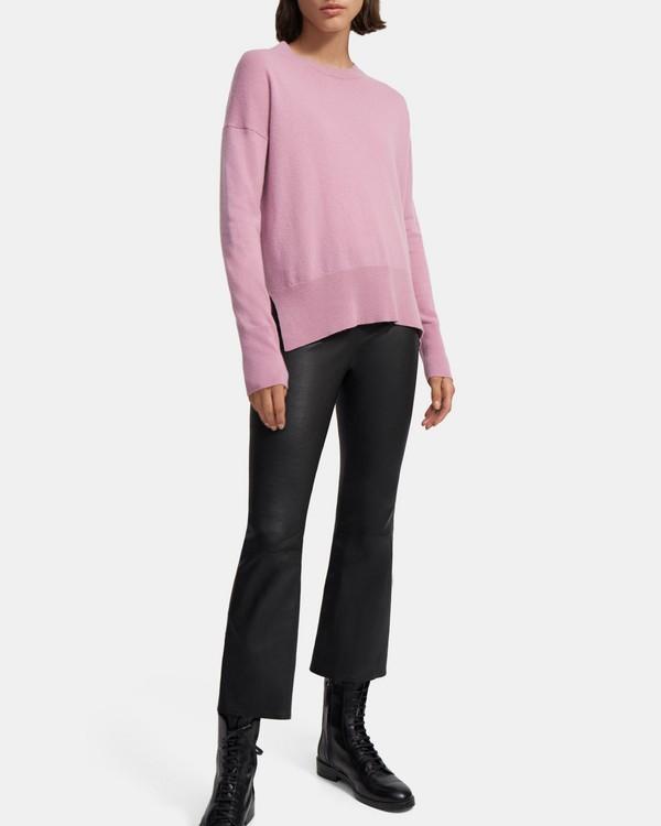 띠어리 Theory Karenia Sweater in Cashmere,DUSTY PINK