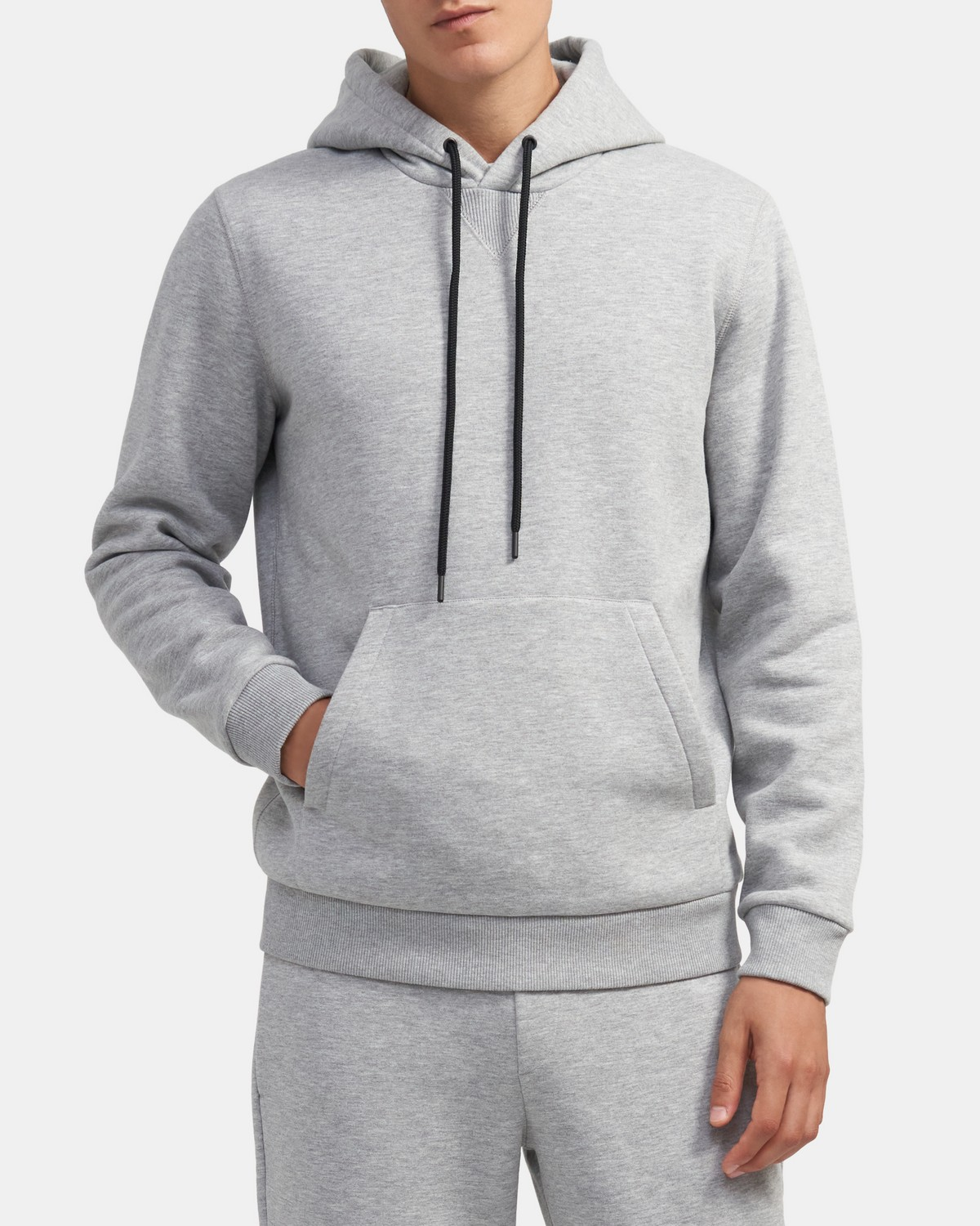 Essential Hoodie in Fleece
