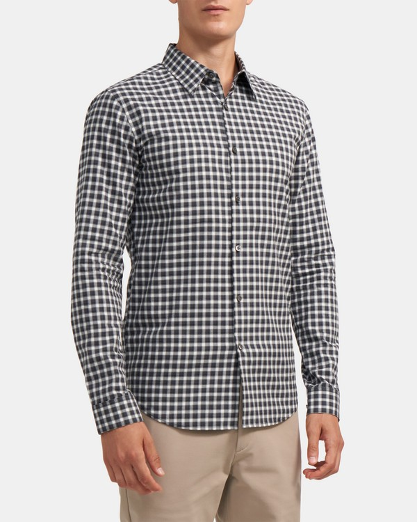 Standard-Fit Shirt in Gingham