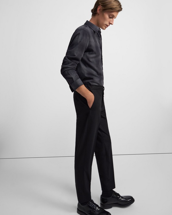 Hunter Pant in Stretch Flannel