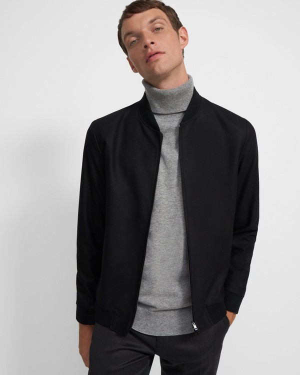 Aiden Jacket in Stretch Flannel