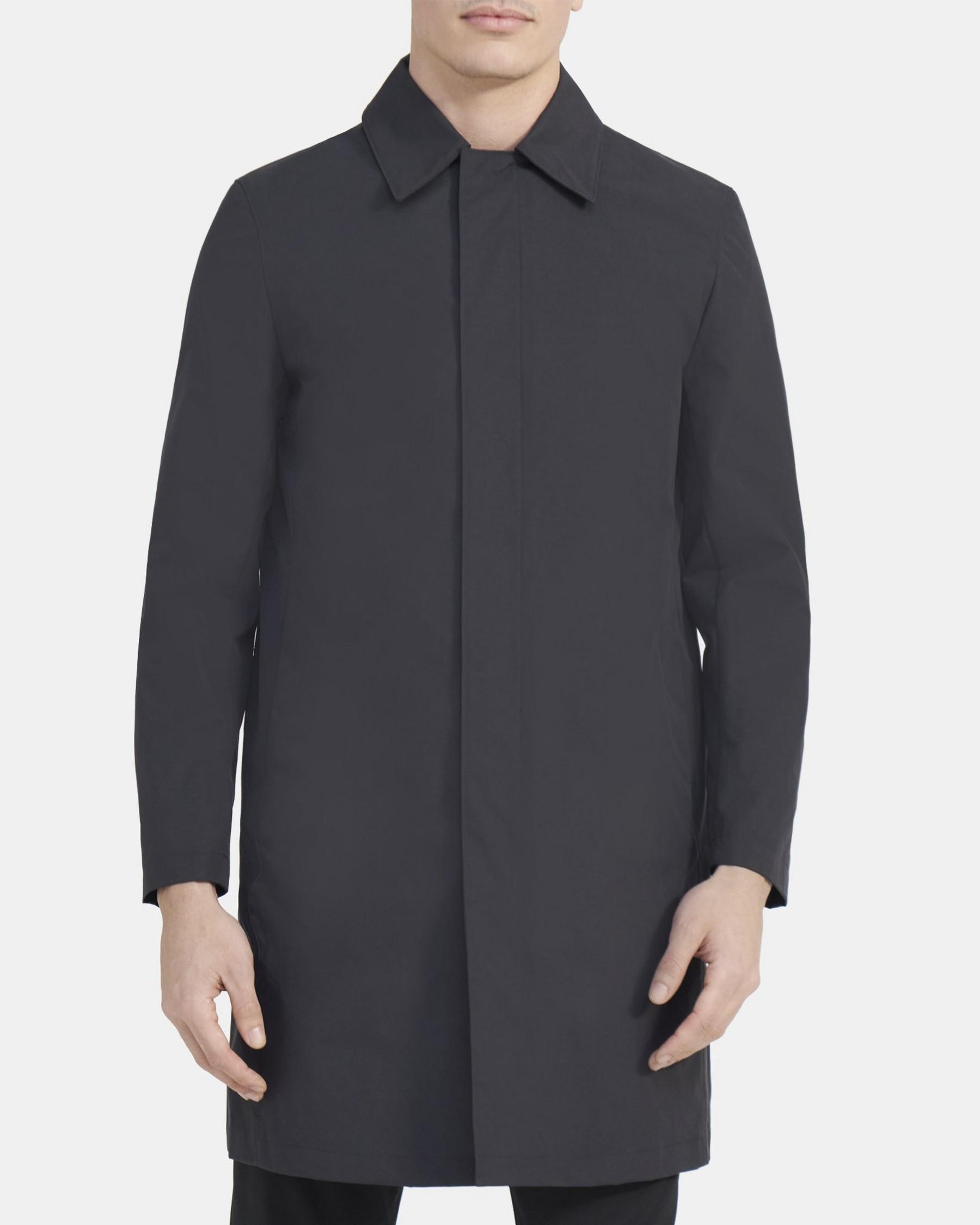 Theory Schaffer Coat in Triple-Layer Nylon
