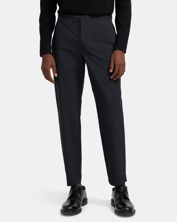띠어리 맨 바지 Theory Tapered Pant In Tech Stretch Cotton,SLATE