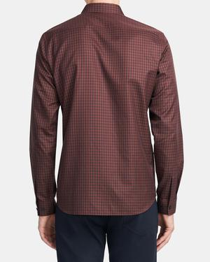 Irving Shirt in Check Cotton
