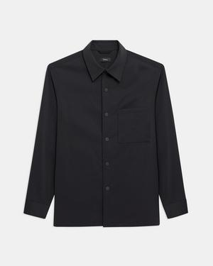 Clyfford Shirt Jacket in Neoteric