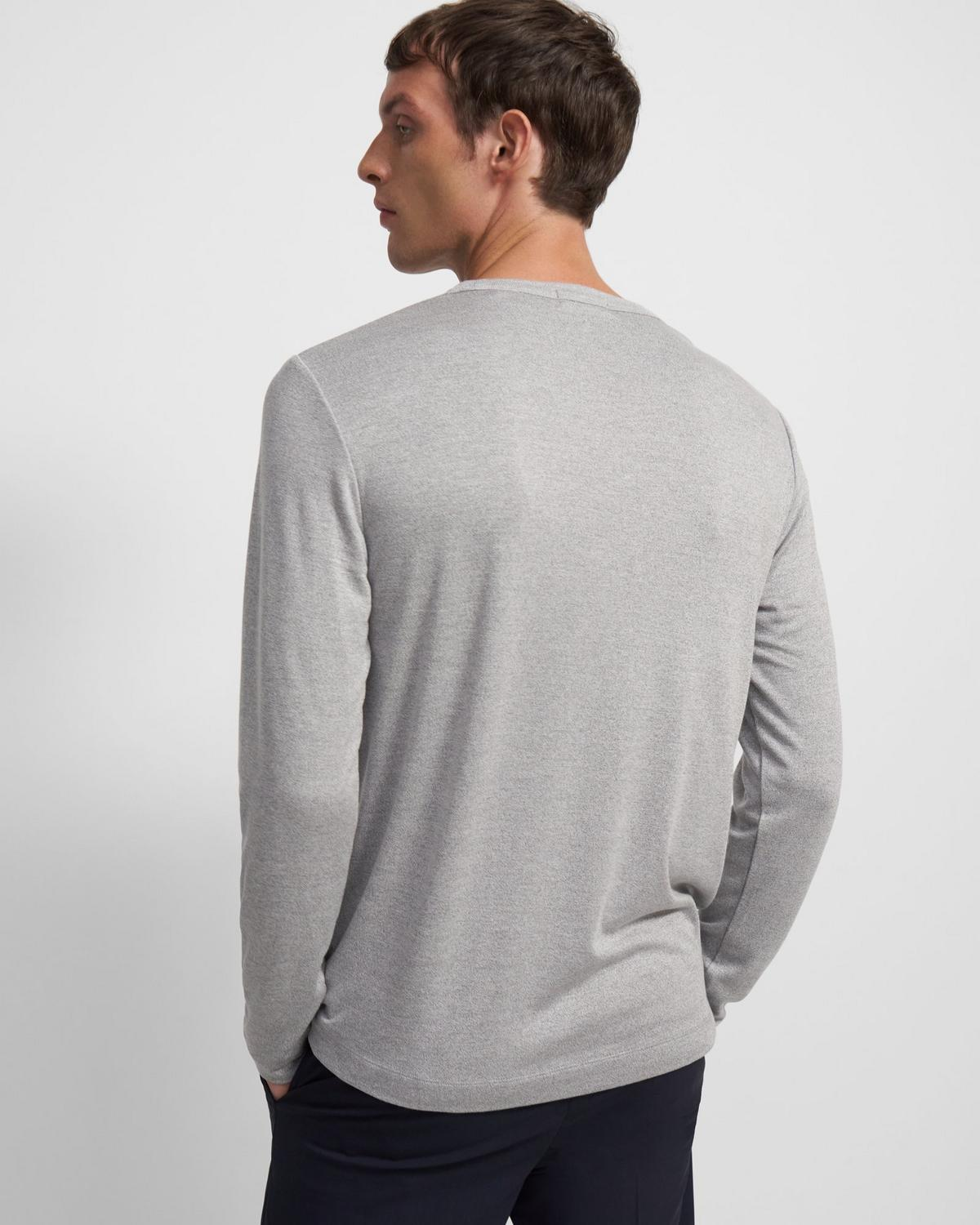 Long-Sleeve Tee in Modal Jersey