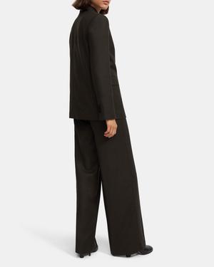 Piazza Jacket in Sleek Flannel