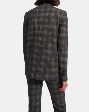 Piazza Jacket in Plaid Wool