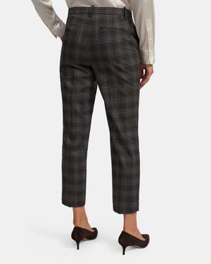 Treeca Pant in Plaid Wool