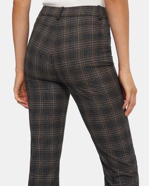 Straight Jean in Plaid Wool