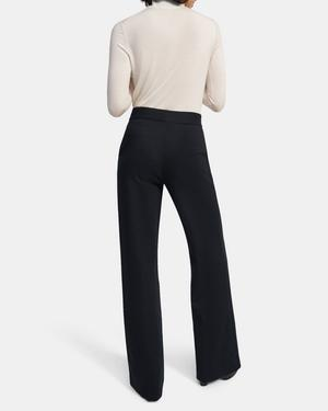 Talbert Pull-On Pant in Striped Viscose Knit