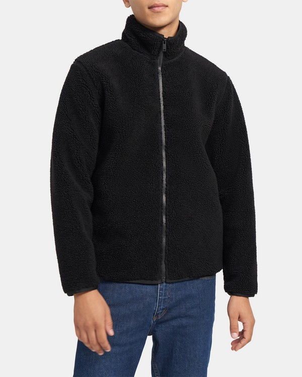 Classon Bomber Jacket in Fleece