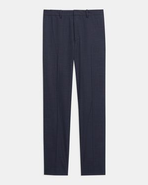 Mayer Pant in Grid Stretch Wool