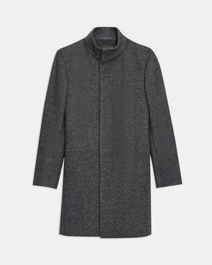 Belvin Coat in Twill Melton