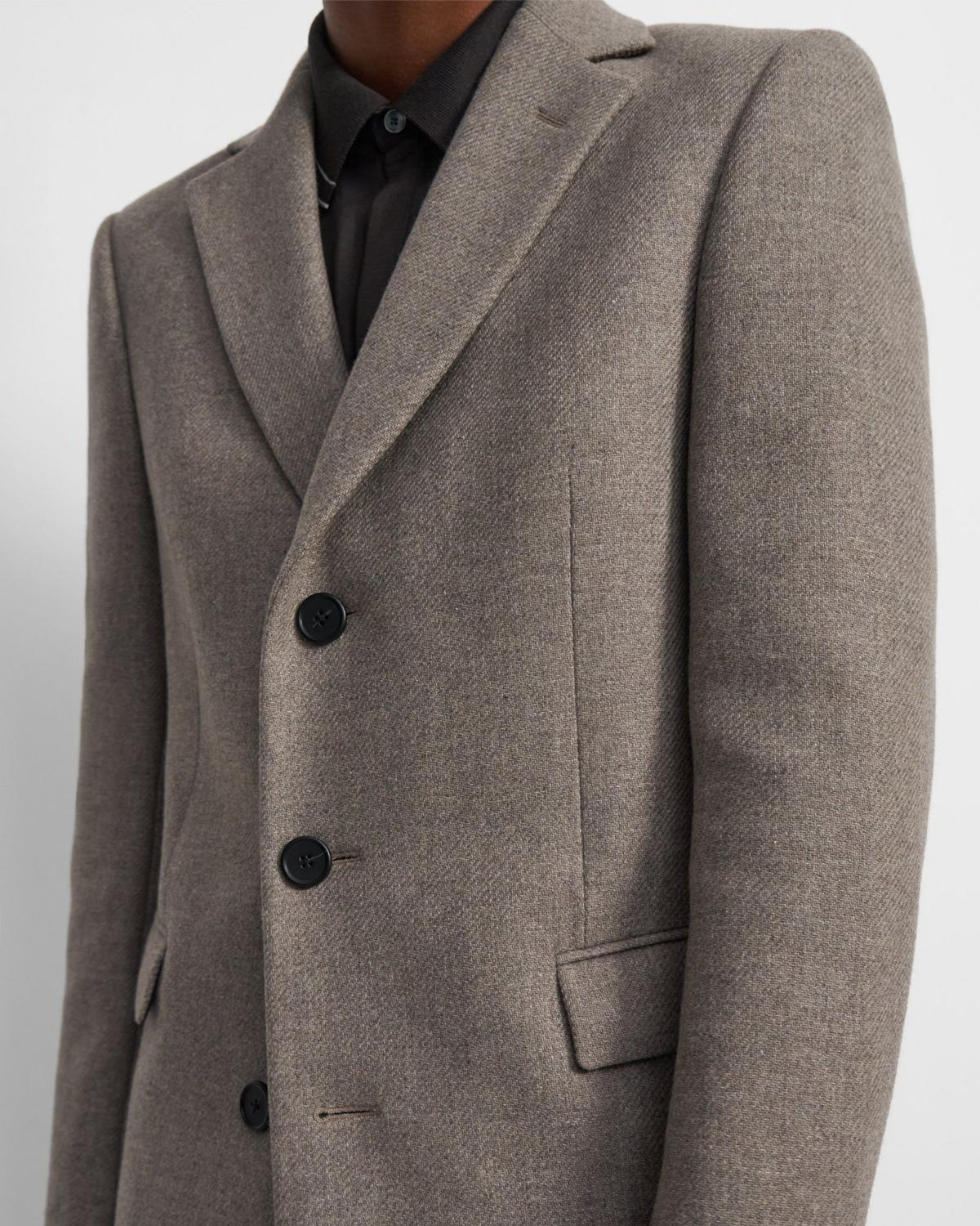 Chambers Coat in Recycled Melton