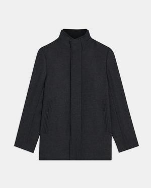 Clarence Jacket in Recycled Melton