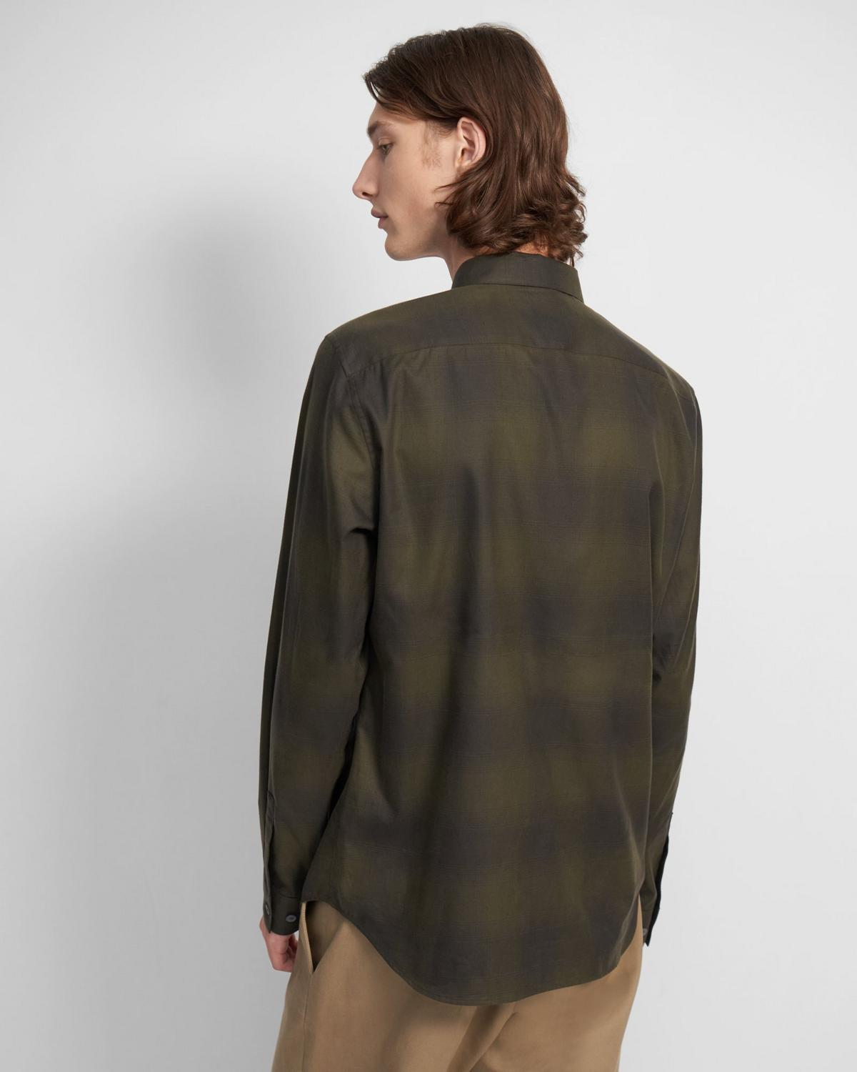 Irving Shirt in Checked Cotton
