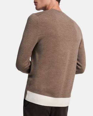 Crewneck Sweater in Merino Wool