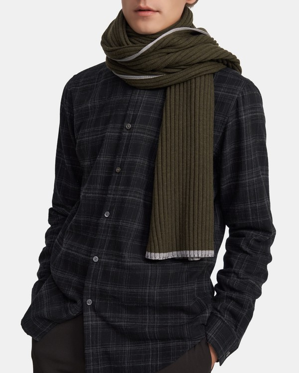 Miles Scarf in Merino Wool