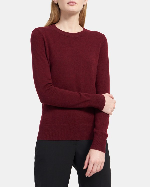 Cashmere Knit Long-Sleeve Tee