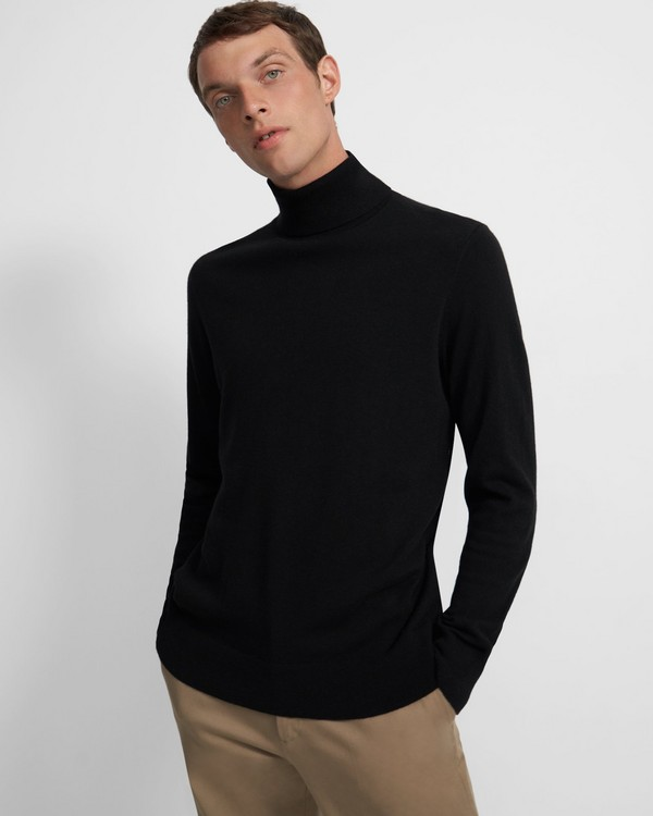 Turtleneck Sweater in Cashmere