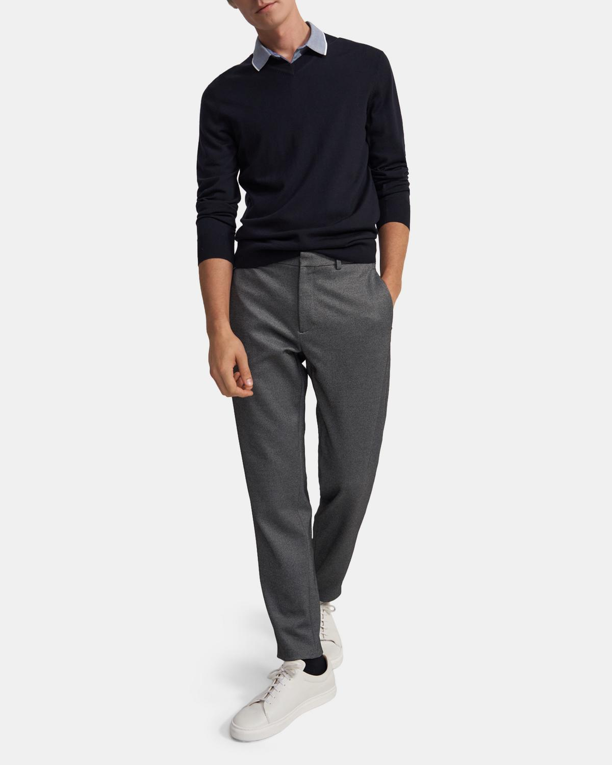 Curtis Pant in Wool Ponte