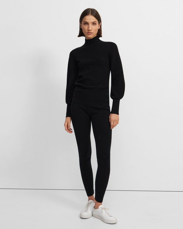 Legging in Wool-Cashmere