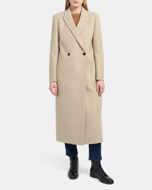 City Coat in Wool-Cashmere