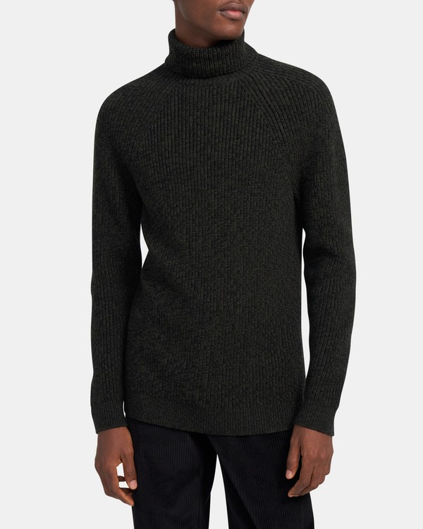 Martin Turtleneck Sweater in Merino Wool