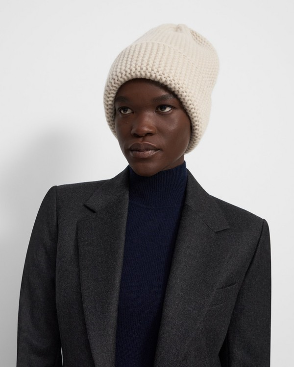 Knit Hat in Cashmere