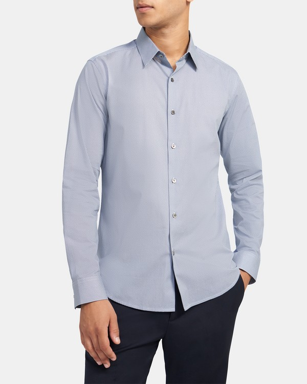 Tailored Shirt in Check Cotton