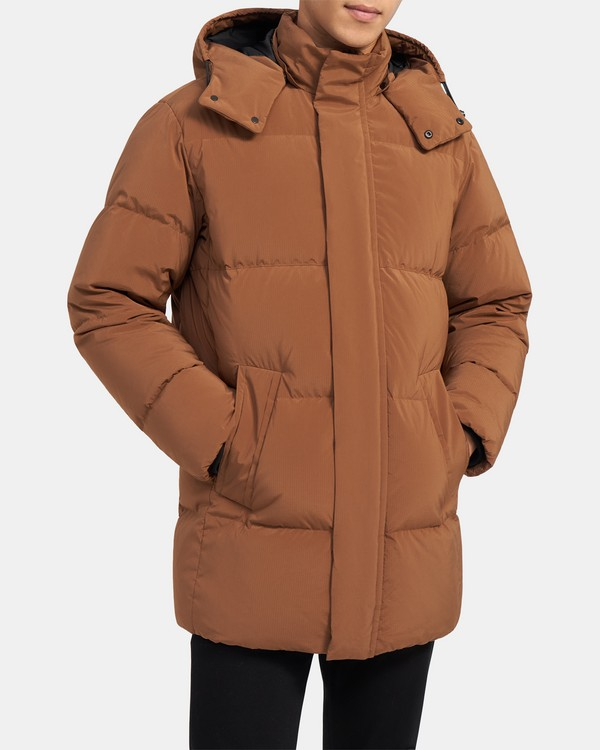 Fulton Puffer Coat in Quilted Shell