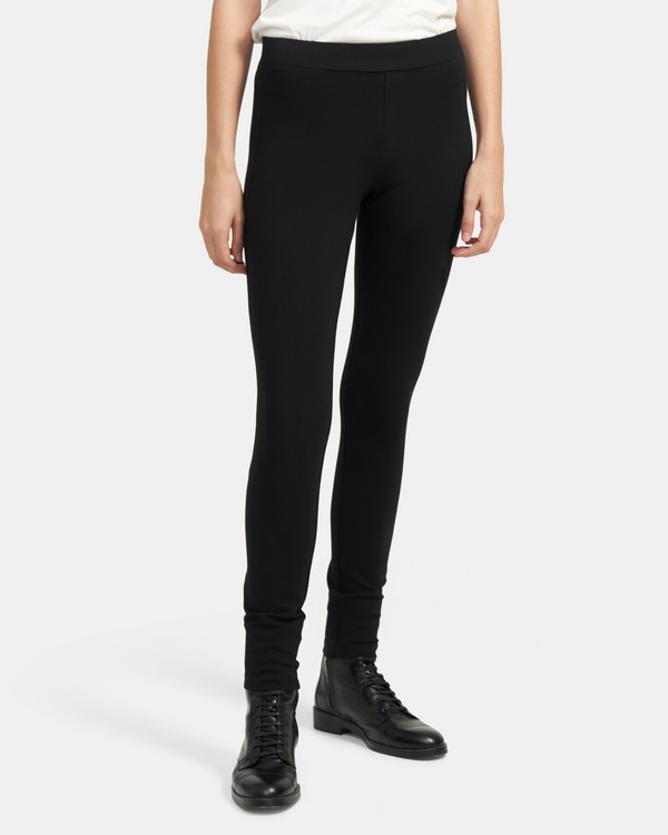 Shawn Legging in Stretch Ponte