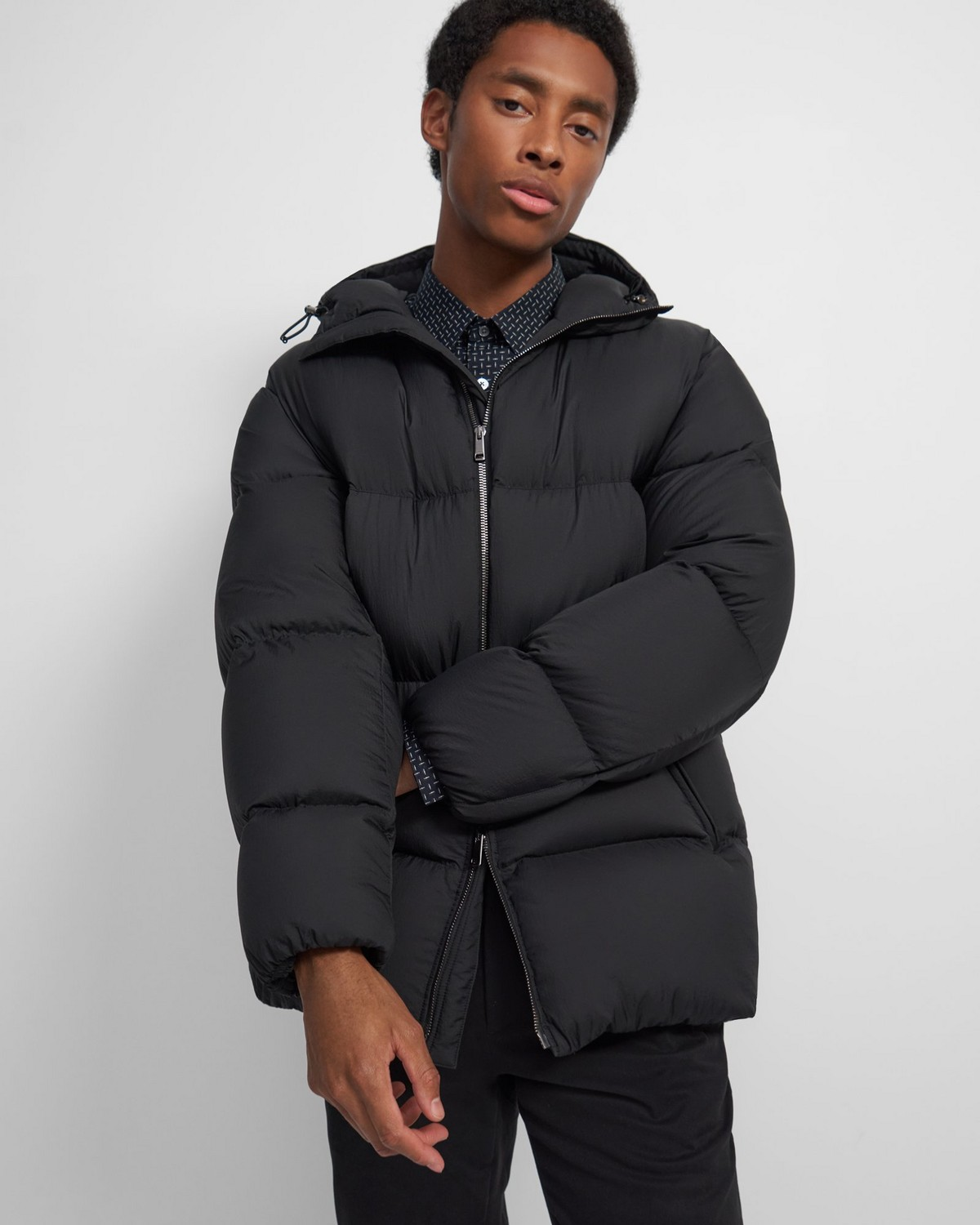 Quintin Re:Down® Puffer Coat in Washed Nylon