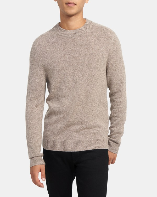 Seamless Mockneck Sweater in Cashmere