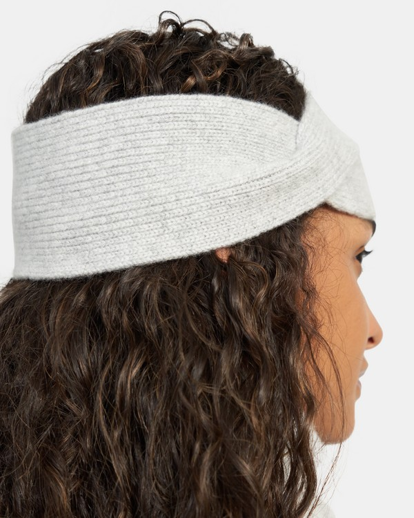 Twisted Headband in Cashmere