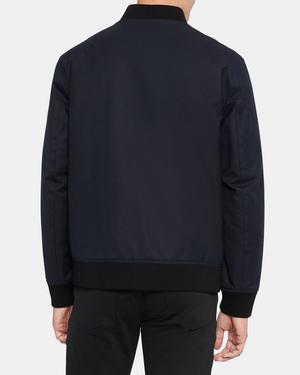 Reversible Bomber Jacket in Wool