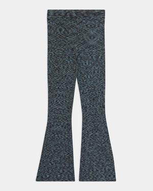 Pull-On Kick Pant in Space Dyed Viscose