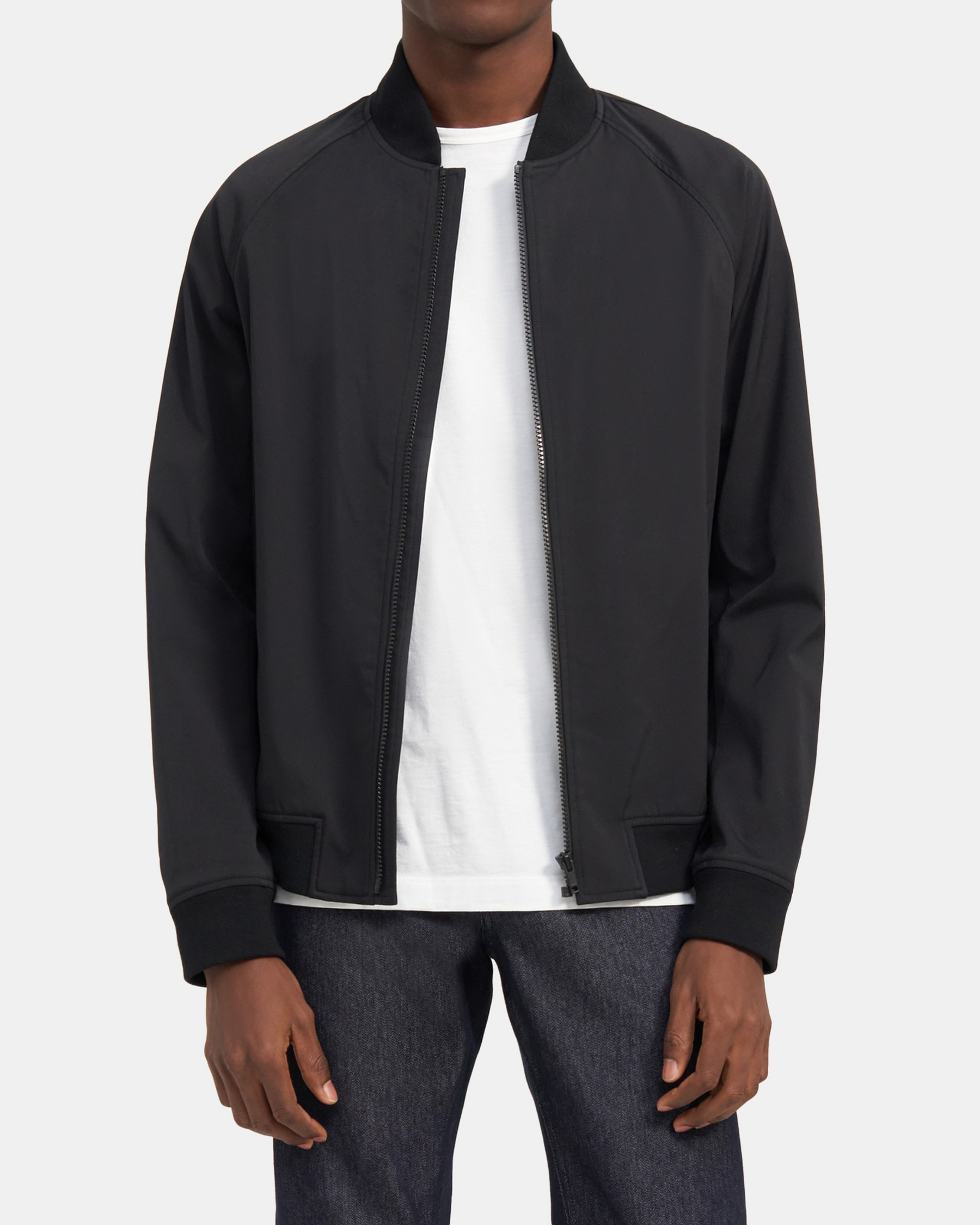 Theory Bomber Jacket in Ascend Tech
