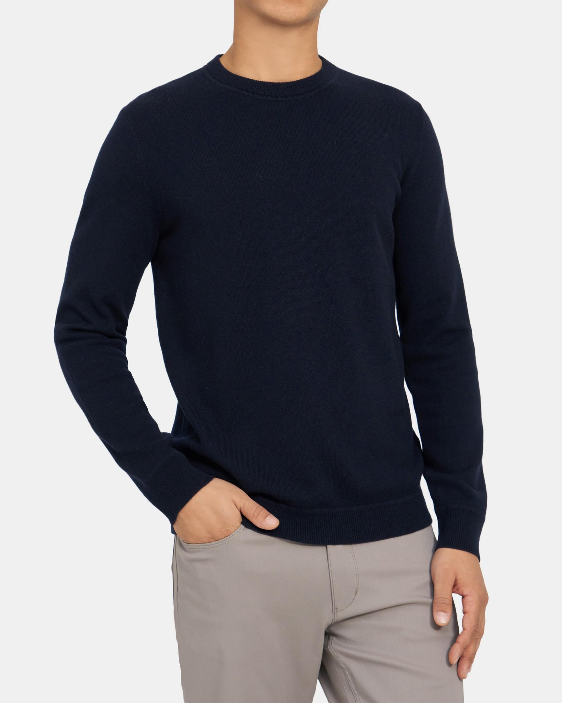 Theory Crewneck Sweatshirt in Cashmere