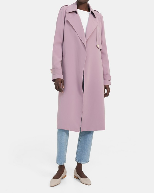 Perfect Raglan Trench Coat